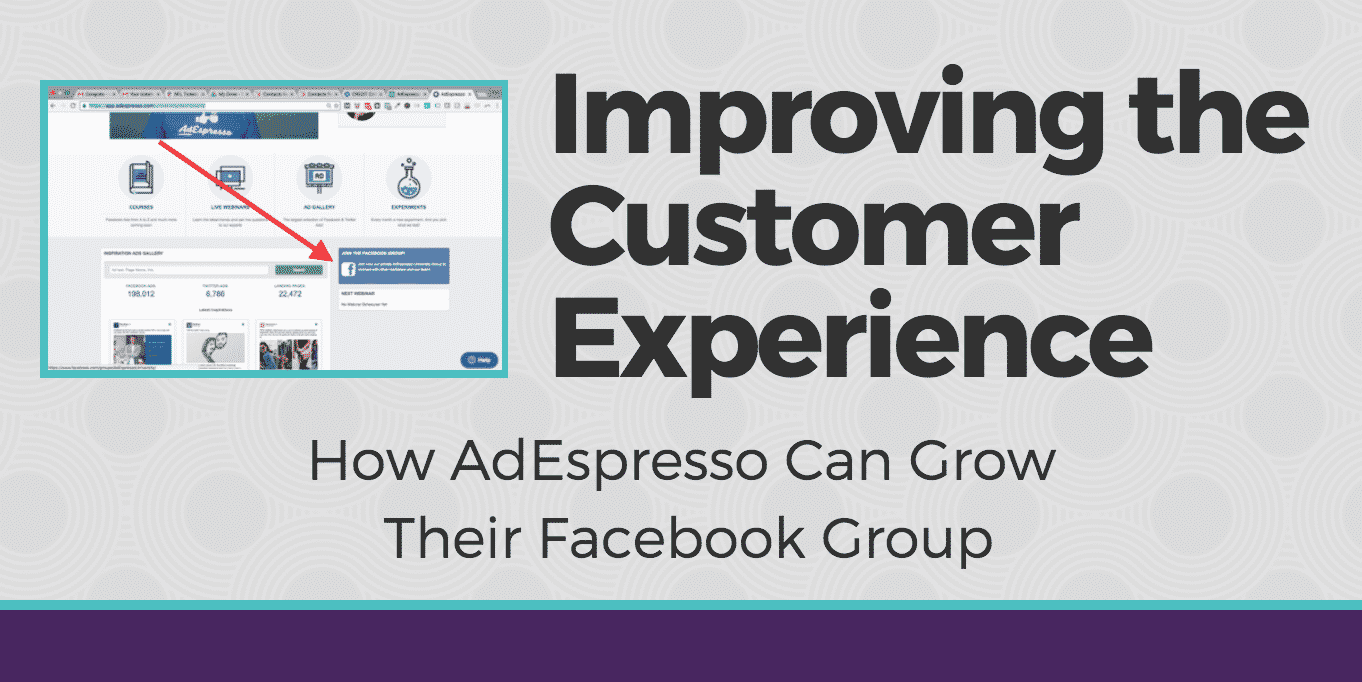 How AdEspresso Can Grow Their Facebook Group
