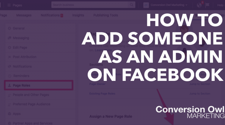 How to Add Someone as an Admin to Your Facebook Page