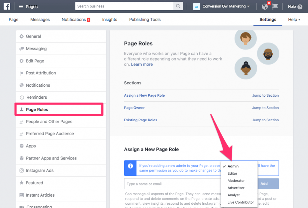 How to Quickly Add an Admin to Your Facebook Page [& What They'll