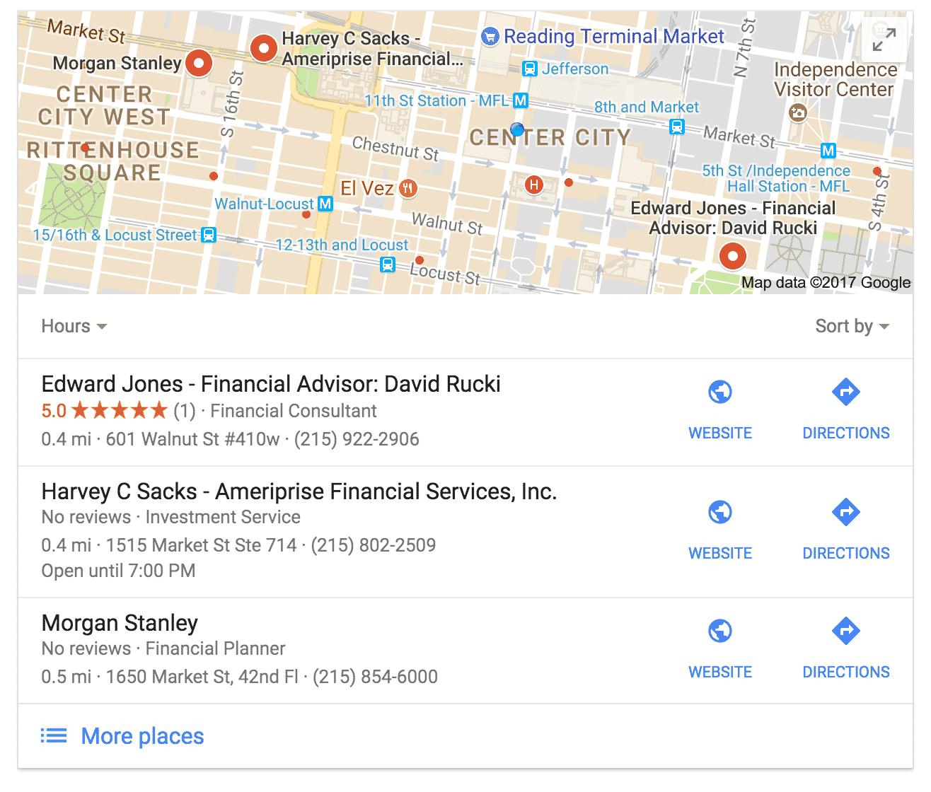 Financialplannerlocalmapphiladelphia - Philadelphia terminal map