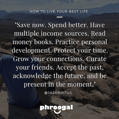 Save now, spend better
