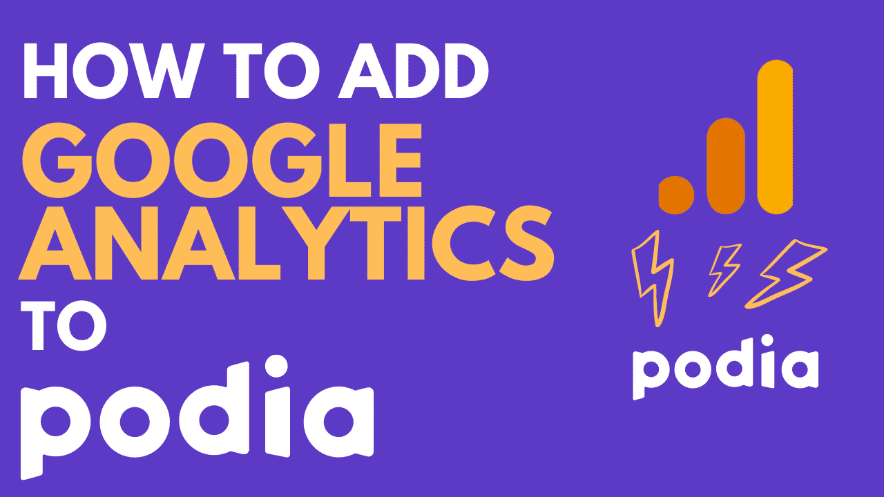 How to add Google Analytics to Podia